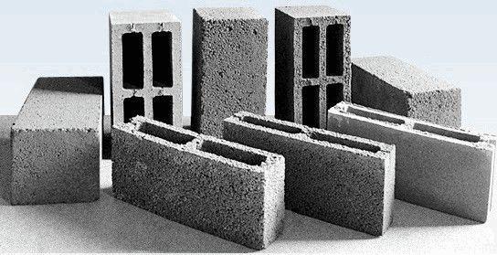 Блоки щелевые