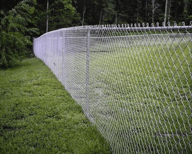 Забор из сетки «рабица»