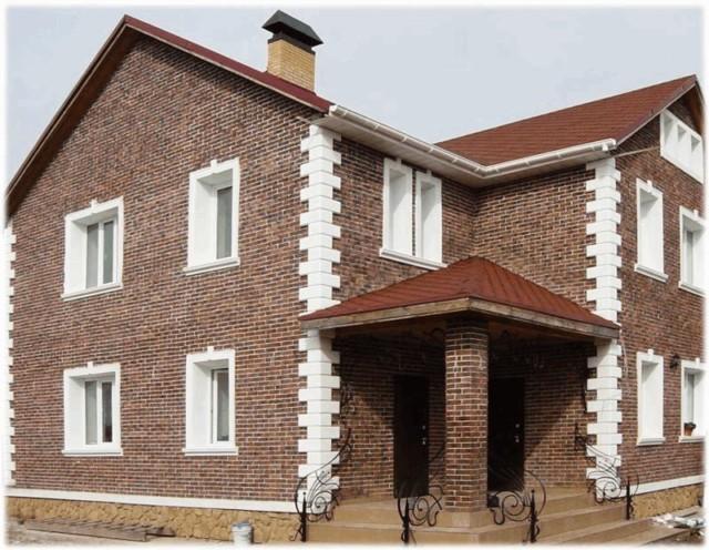 Красивая кладка из облицовочного кирпича для фасада украсит ваш дом