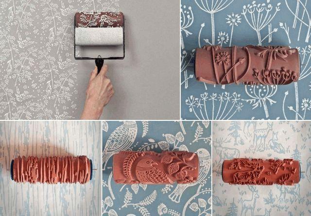 Новые технологии отделки стен – жидкие обои